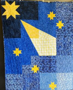 Altair quilt by True Blue Quilts