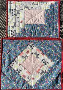 Ugly Fabric challenge Farmyard