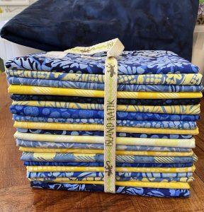 harvest blue by island batik