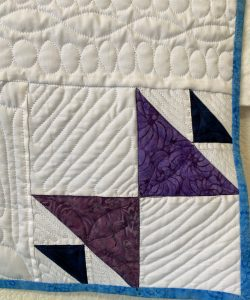 Kissing Fish block from Traveling Puzzle Quilt