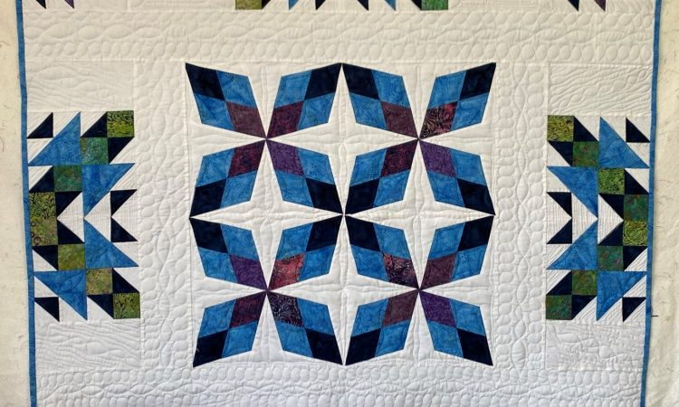 traveling puzzle quilt