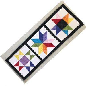 Favorite Stars Table Runner from True Blue Quilts