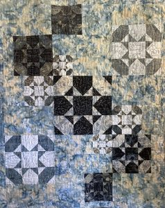 Gear Shift from True Blue Quilts