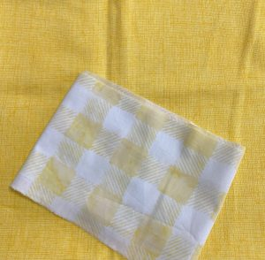 Yellow fabric for quilt blocks