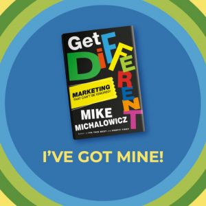 Order your Get Different book