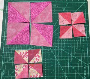pink pinwheels parts