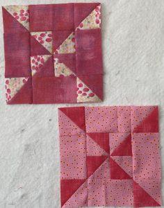 Small pink pinwheels